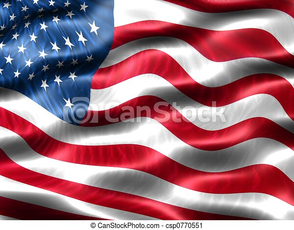 Flag of the United States of America - csp0770551