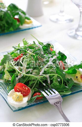 Healthy salad - csp0773306