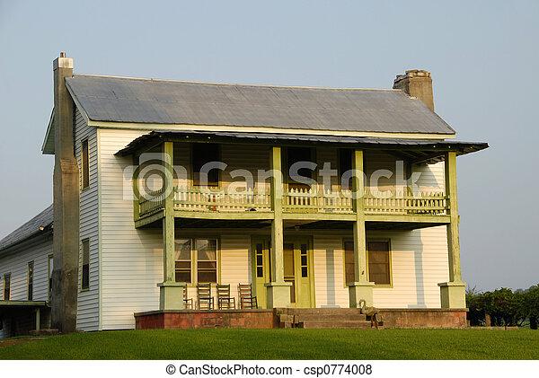 Rural Farm House - csp0774008