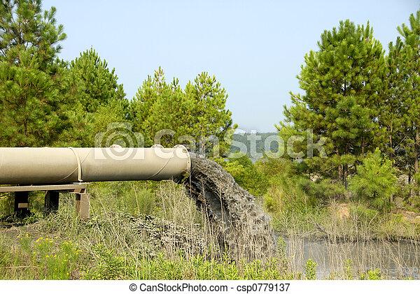 Indutrial Waste Water - csp0779137