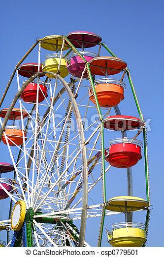 Colorful Ferris Wheel - csp0779501