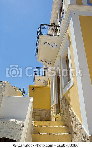 Greek house - csp0780266