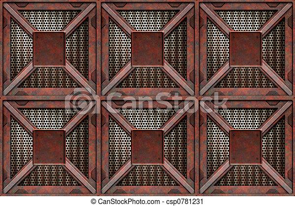 rusting crates - csp0781231