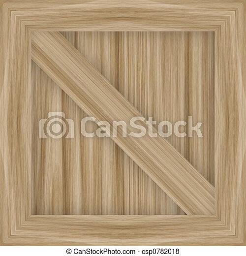 wooden crate - csp0782018