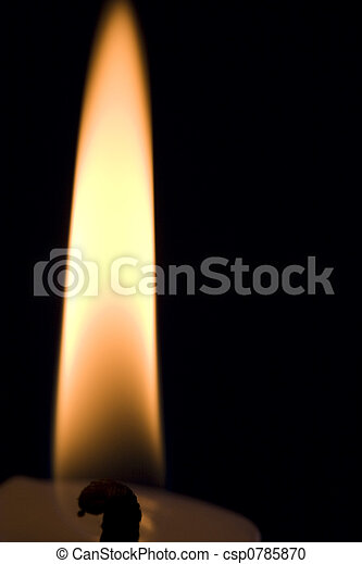 Candle flame - csp0785870