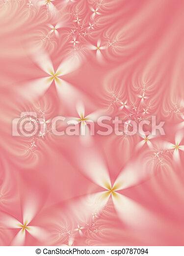 Dreamy floral fractal - csp0787094