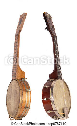 Banjo-Ukeleles From The Roaring Twenties - csp0787110