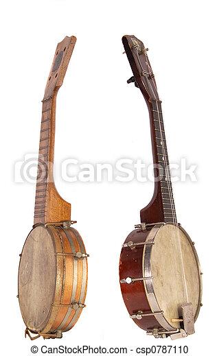 Banjo-Ukeleles From The Roaring Twenties - csp0787110