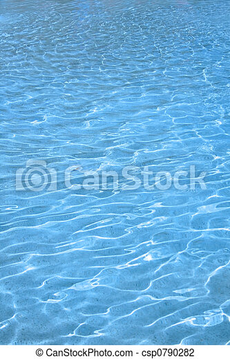 Blue Water Background - csp0790282
