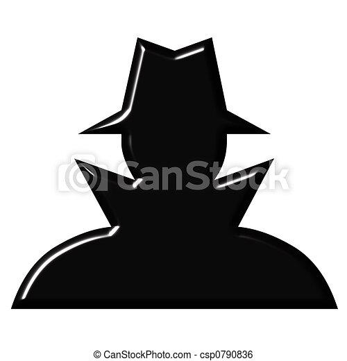 Clip Art Spy Clipart spy illustrations and clipart 16454 royalty free spy