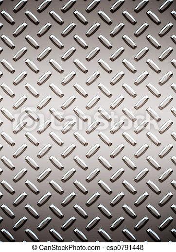 alloy diamond plate metal - csp0791448