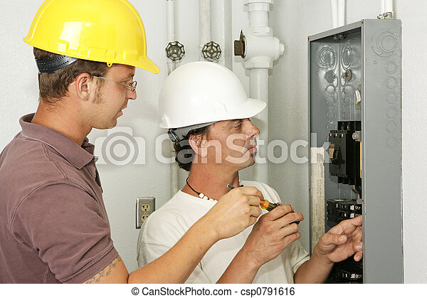 Electricians Wiring Panel - csp0791616