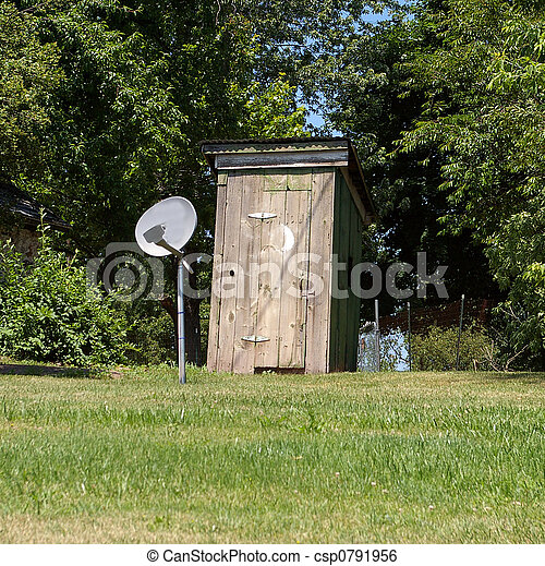 modern outhouse - csp0791956