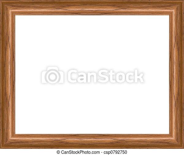 Oak Picture Frame - csp0792750