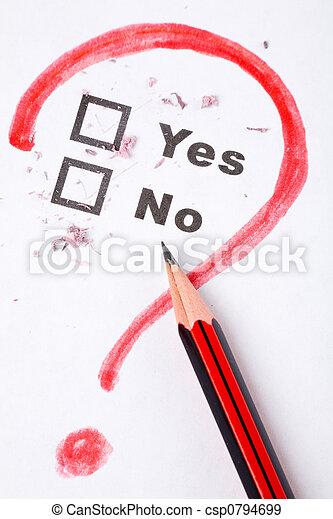 questionnaire and interrogation - csp0794699