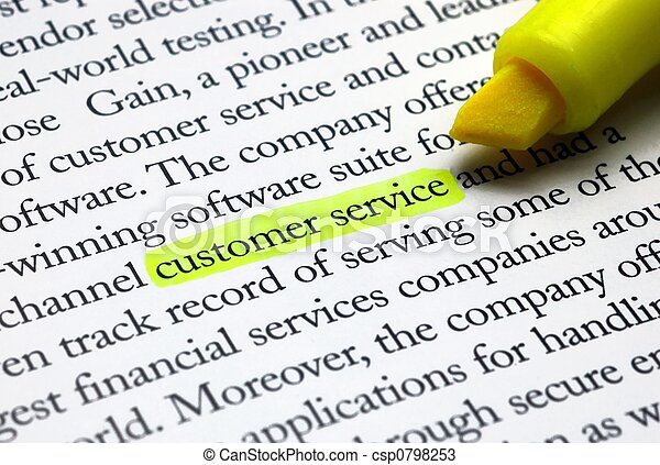 Customer Service - csp0798253