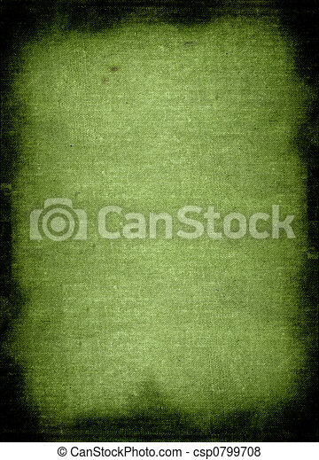green rough material background - csp0799708