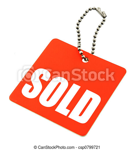 sold tag - csp0799721