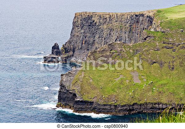 Shoreline and Cliffs - csp0800940