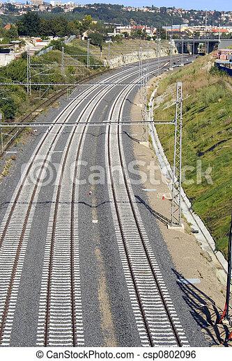 Railway Track - csp0802096