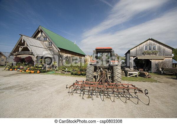 Immagini di trattore barra del timone in fronte di for Piani di fattoria del vermont