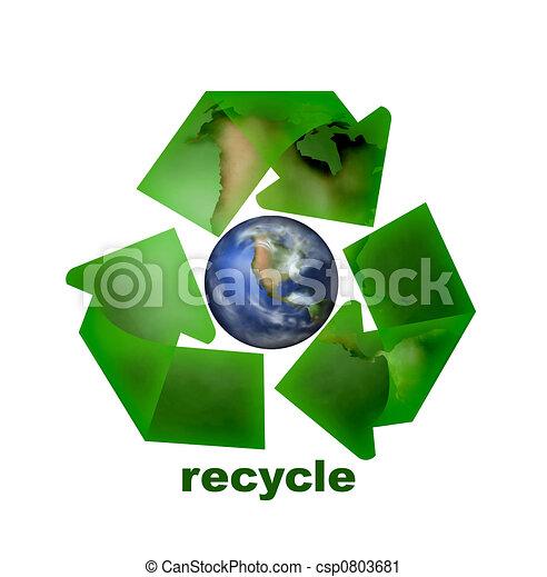 Recycle Icon - csp0803681