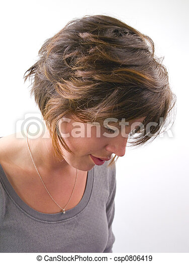 Young Adult Woman Portrait - csp0806419