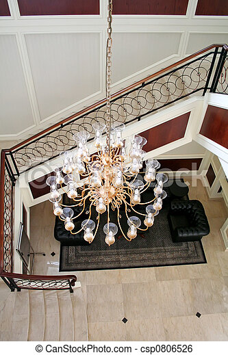 Elegant chandelier - csp0806526