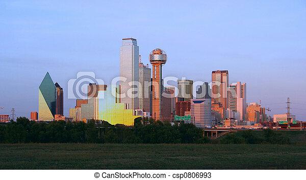 Downtown Dallas, Texas - csp0806993
