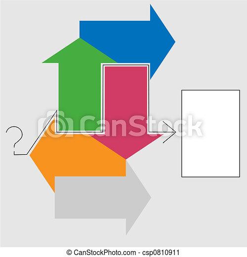 Decision Arrows Question Answer - csp0810911