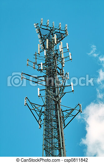Communications Tower - csp0811842
