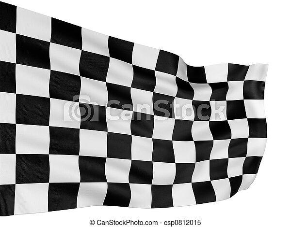 Checkered Flag - csp0812015