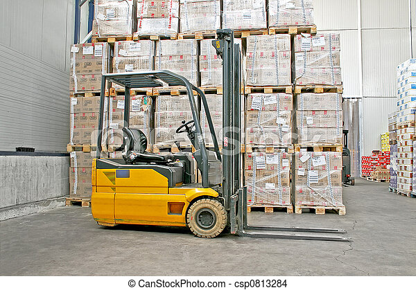 Forklifter industry - csp0813284