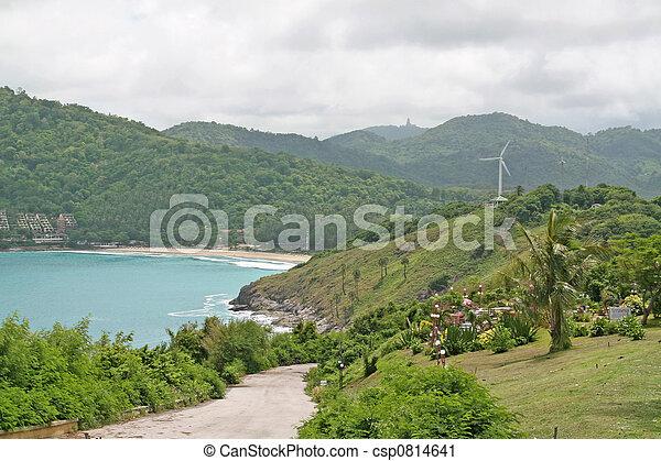 Secluded Thai Beach - csp0814641