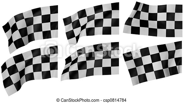 Checkered Flag - csp0814784