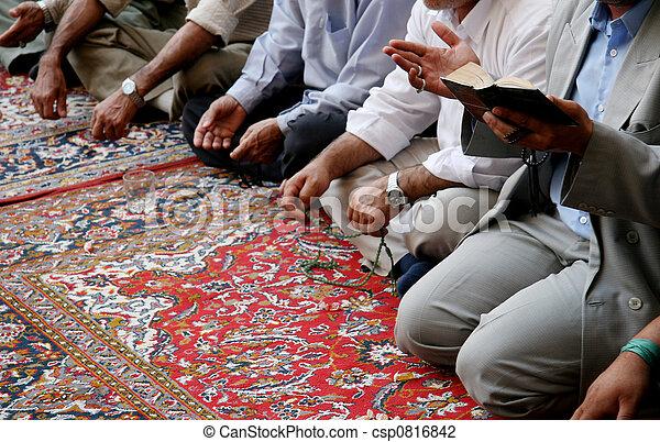 Lamenting muslims - csp0816842