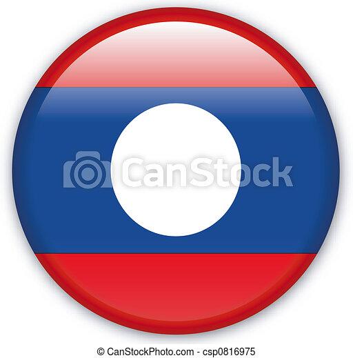 Button Laos - csp0816975
