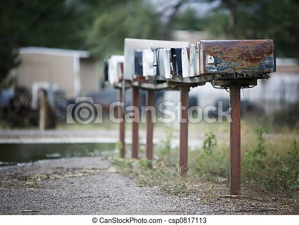 Rural Mailboxes - csp0817113