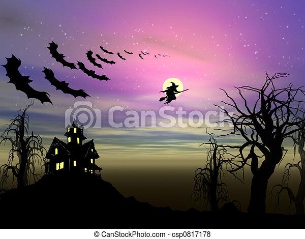 Halloween theme - csp0817178