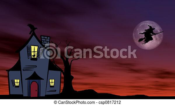 Halloween theme - csp0817212