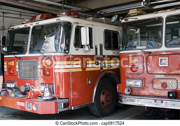 Fireman truck - csp0817524