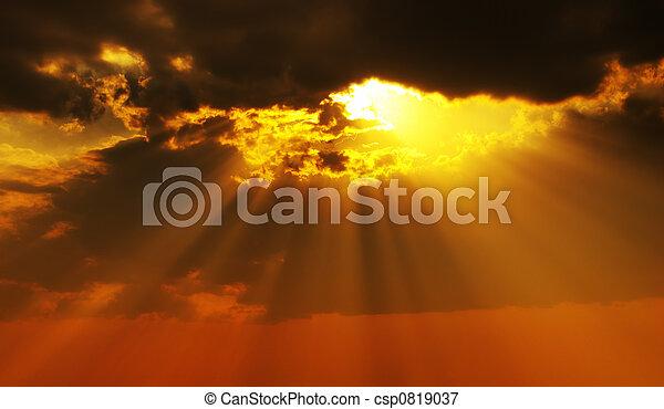 Solar beams - csp0819037