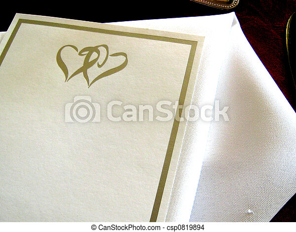 Wedding Invitation - csp0819894