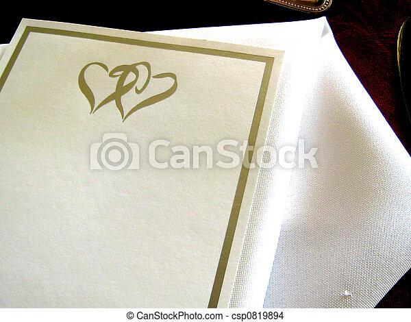 Wedding Invitation - csp0819894