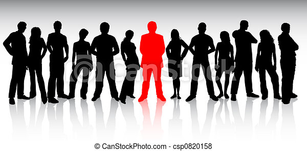 stand out from the crowd - csp0820158
