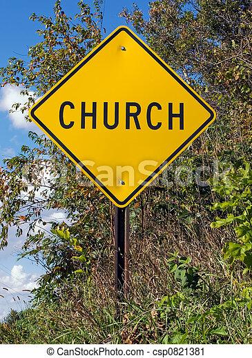 教堂, 簽署 - csp0821381