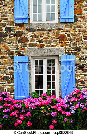 Country house in Brittany - csp0822969