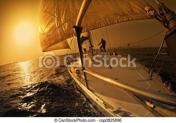 sail boat - csp0825896