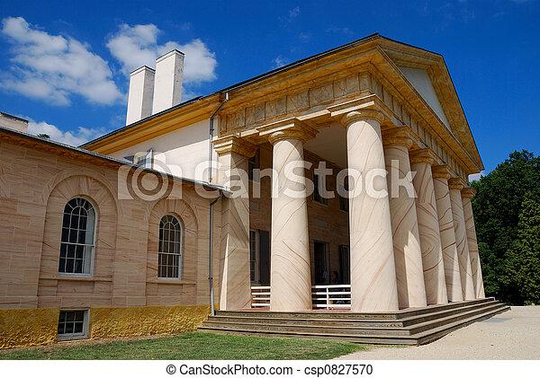 Robert E Lee Mansion - csp0827570