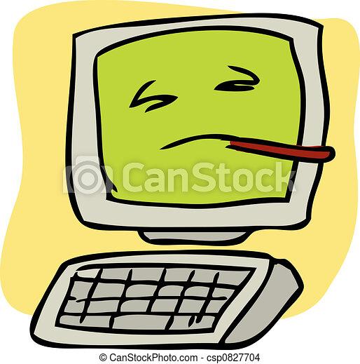 Sick computer - csp0827704